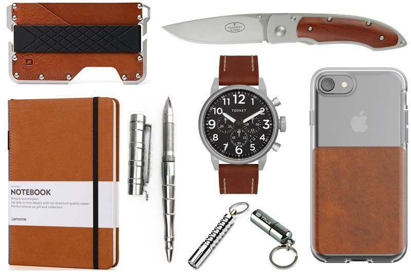 EDC Gear Professional Brown Leather