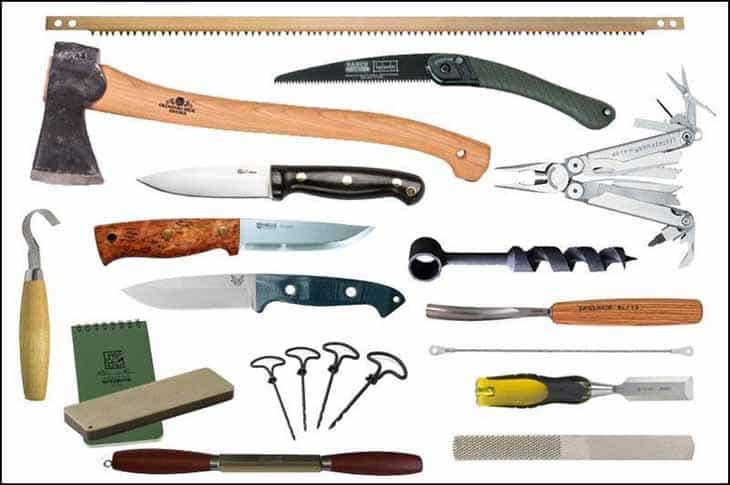Survival Gear List - Bushcraft