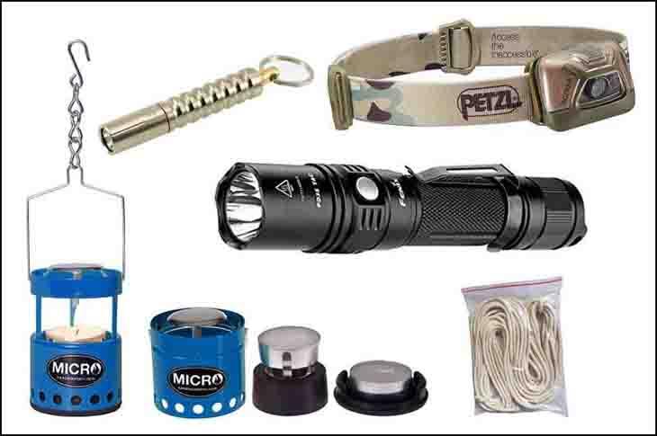 Survival Gear List - Lighting