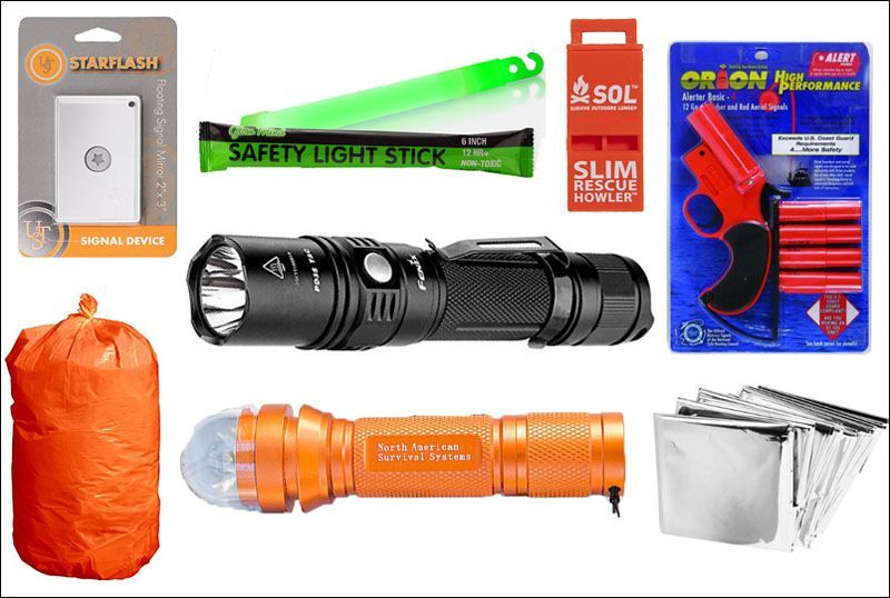 Survival Gear List - Targeted Rescue Signaling