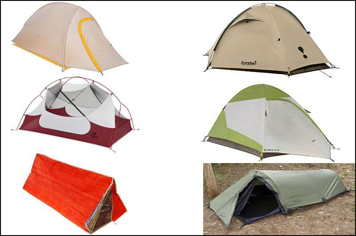 Survival Gear List Tent